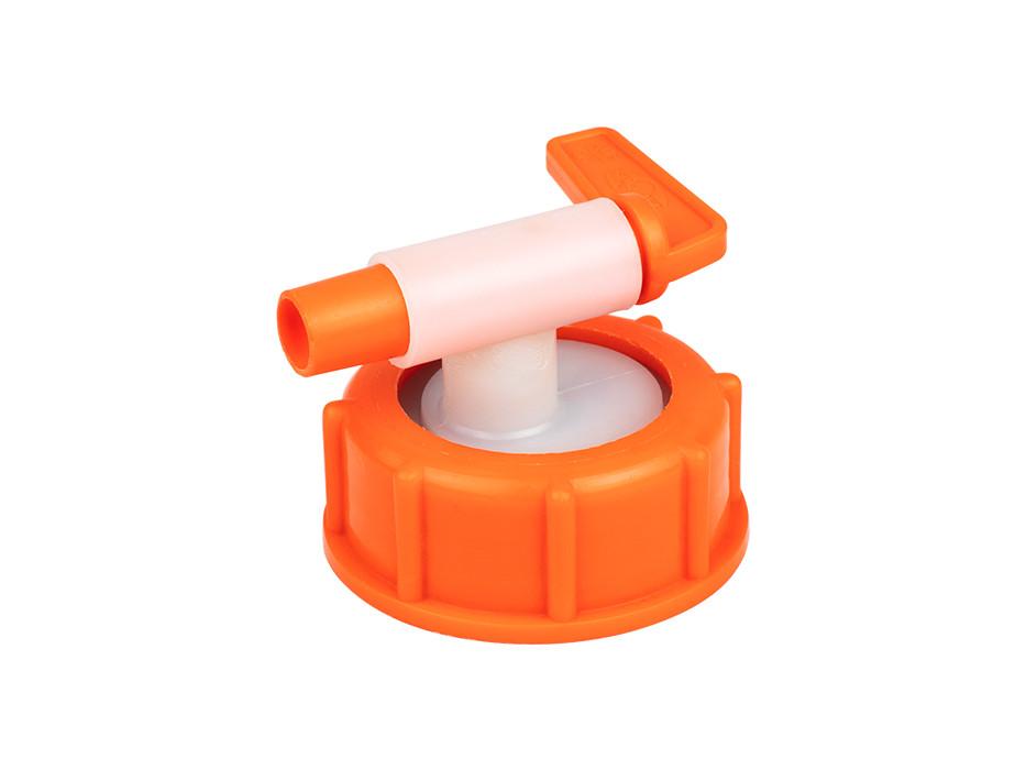 Kunststoff-Auslaufhahn mit Überwurfmutter NW 10 für Mostfass