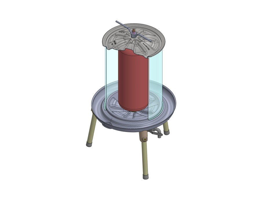 Hydropresse Edelstahl