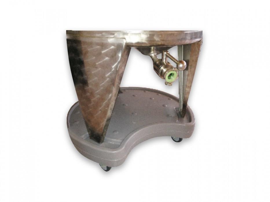 Castor base for FD 240 litres and Fermentegg 250 litres