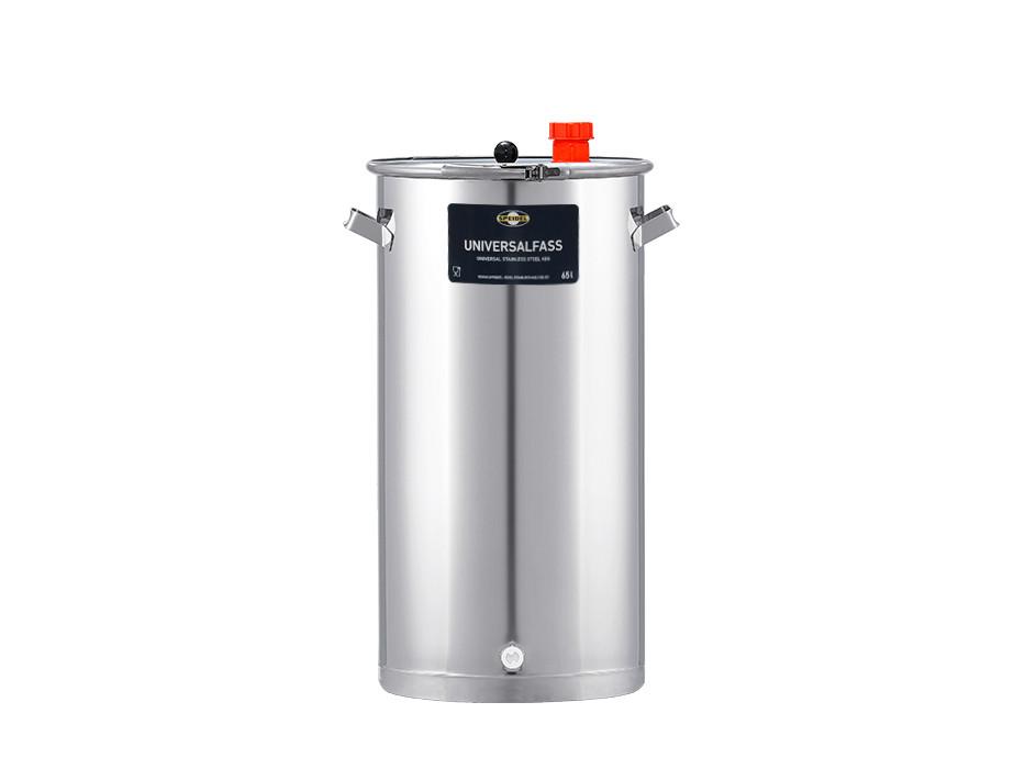 Gär- und Lagerfass aus Edelstahl 65 Liter