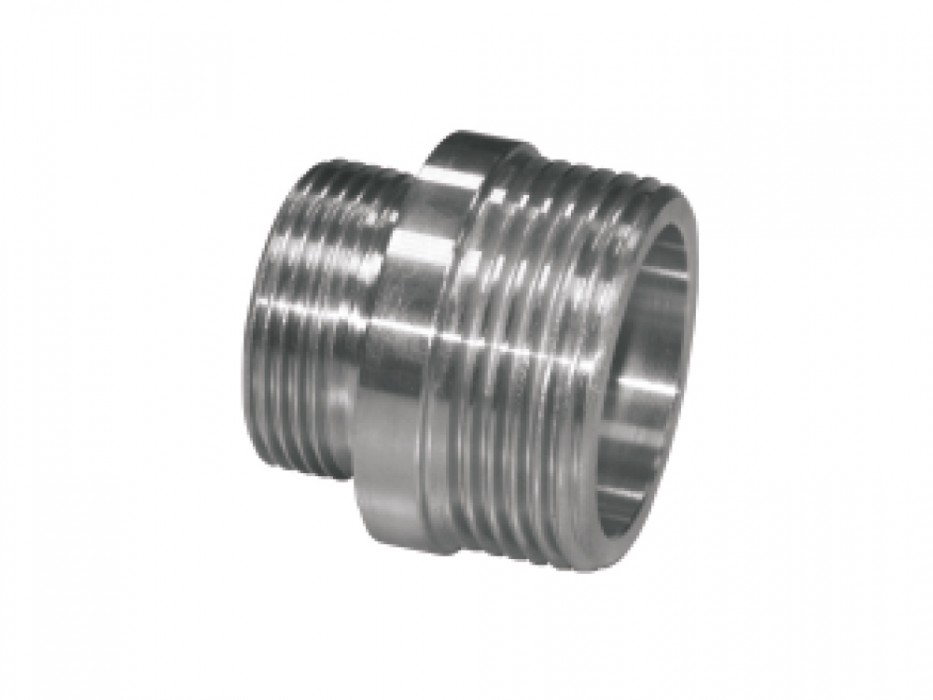 Stainless steel threaded connector (Pfalz thread)