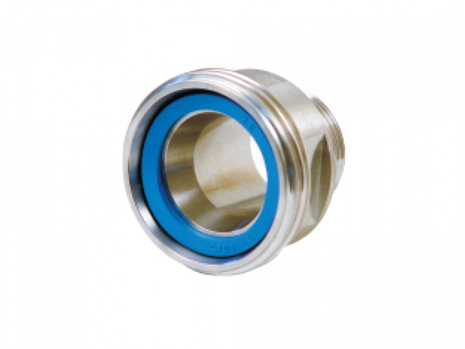 Stainless steel threaded connector (DIN)