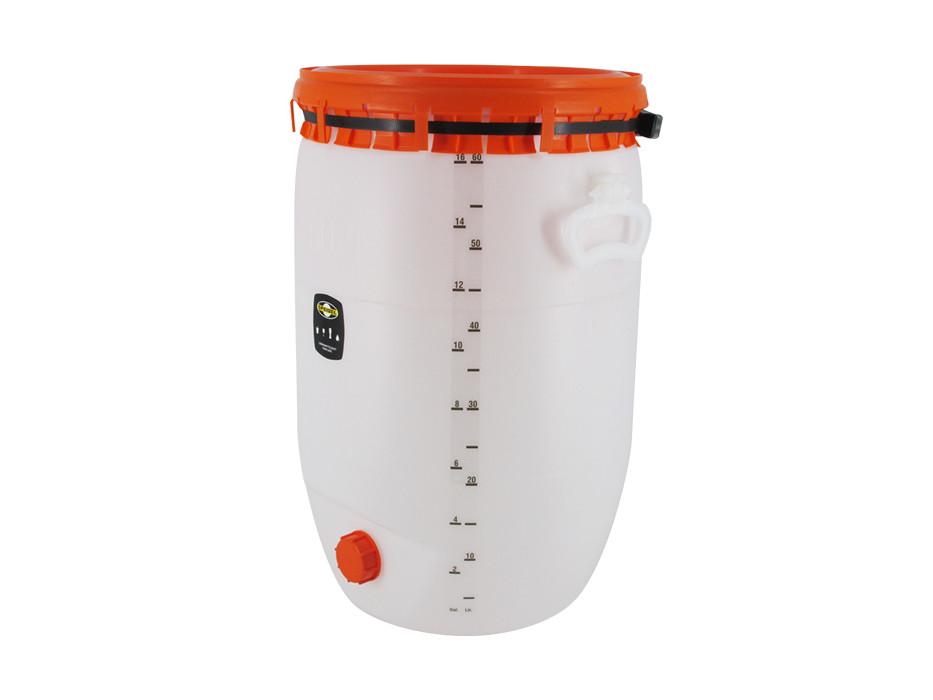 Litre scale for beverage barrel