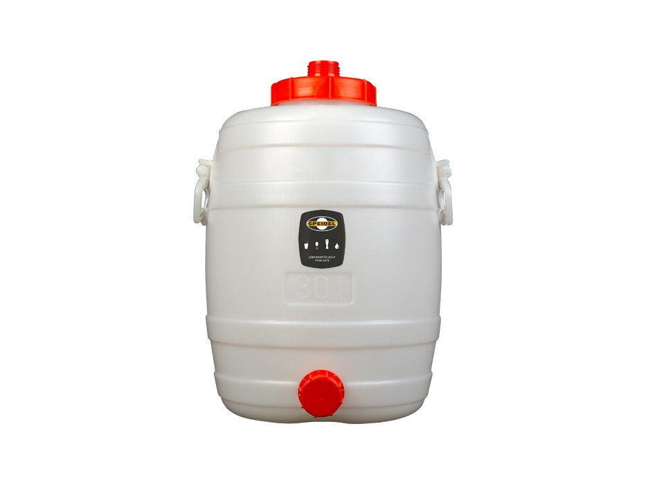 30-litre round container