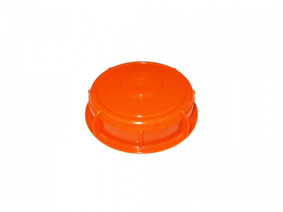 Screw-on lid for round container