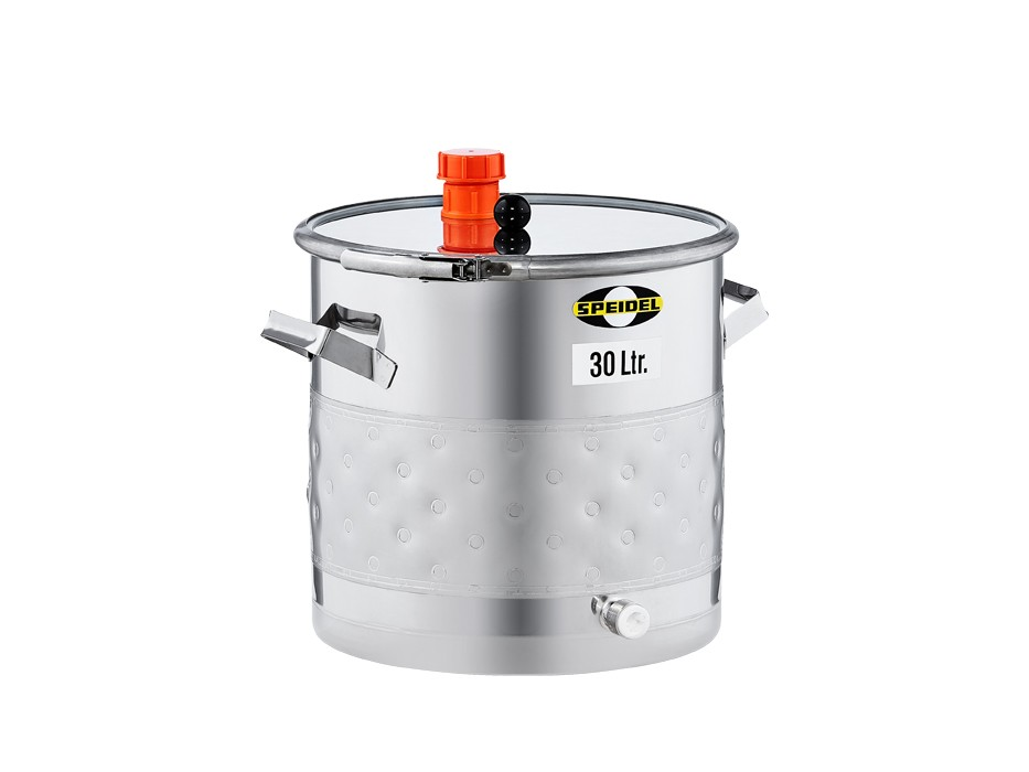 Universal stainless steel keg